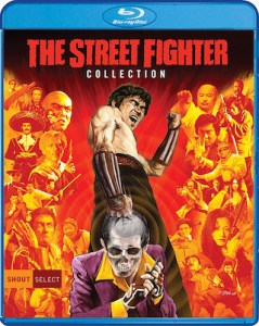 The Street Fighter (part of The Street Fighter Collection) on Blu-ray