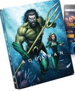 "RUMOR: ""Aquaman"" with Jason Momoa on 4K UHD Blu-ray and Blu-ray in"