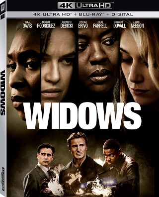 "Steve McQueen film ""Widows"" comes to 4K UHD Blu-ray and Blu"