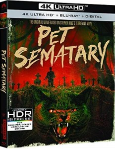"""Pet Sematary"" on 4K UHD Blu-ray. Coming 3/26"