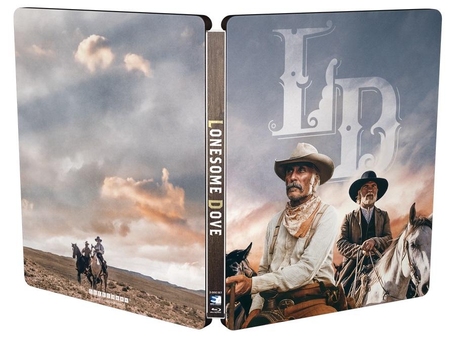 Mini-series Lonesome Dove on Blu-ray Steelbook July