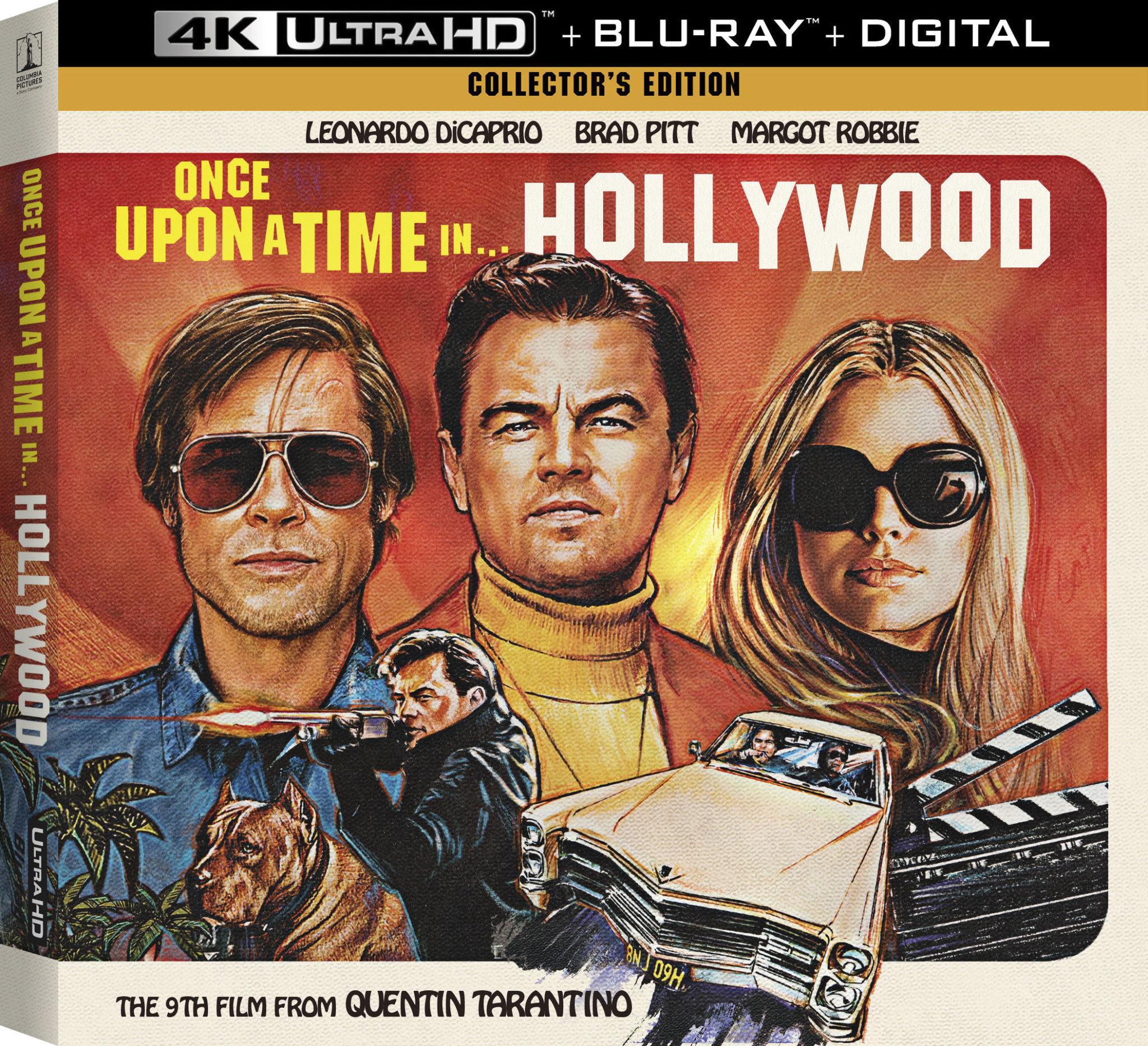 Once Upon A Time In Hollywood On 4k And Blu Ray Highdefdiscnews
