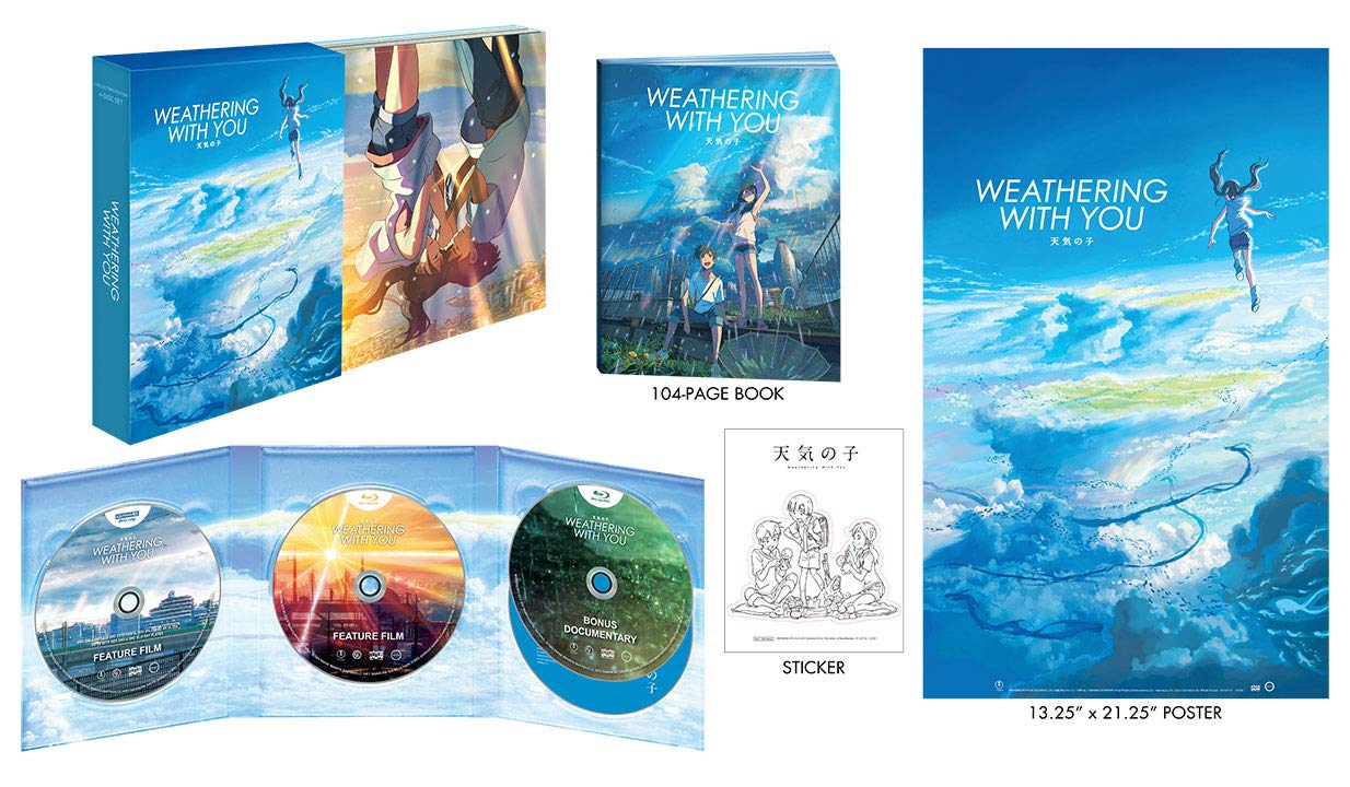 Weathering With You 4k Uhd Blu Ray November Highdefdiscnews